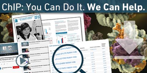 Resources for Chromatin Immunoprecipitation (ChIP-qPCR & ChIP-seq)